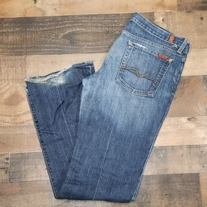 7 for All Mankind Jeans Sz 32 Boot cut